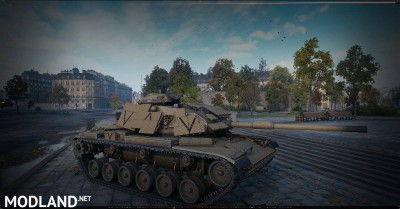 [replaceAnyTank] M60A1RISE from WT, animated 1.1 [1.4.1.2], 3 photo